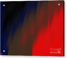Acrylic Print featuring the digital art Reentry by Andy Heavens