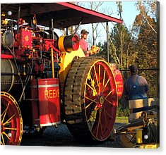 Reeves Steam Tractor Acrylic Print by Pete Trenholm