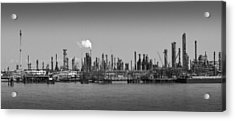 Acrylic Print featuring the photograph Refinery Might by Ricky L Jones