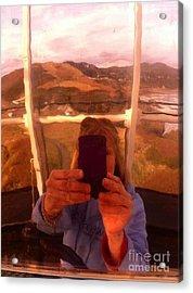 Reflect Back  Acrylic Print by Susan Garren