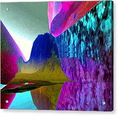 Reflect Glow X Acrylic Print
