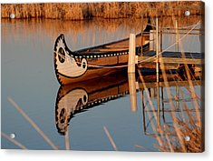 Reflected Acrylic Print by Larry Trupp