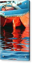 Reflected Acrylic Print by Li Newton