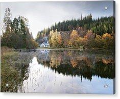 Reflected Mist Acrylic Print