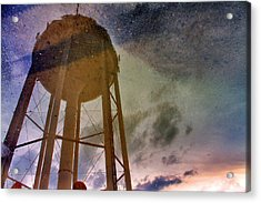 Acrylic Print featuring the photograph Reflected Necessity by Jason Politte