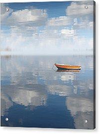 Reflected Shanti Acrylic Print by Deborah Smith