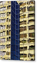 Reflecting Architecture  Acrylic Print
