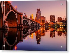 Acrylic Print featuring the photograph Reflecting Beauty Minneapolis Mn by RC Pics