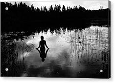 Reflecting Beauty V2 Acrylic Print by Nicklas Gustafsson