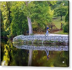 Reflecting Acrylic Print by Brian Wallace
