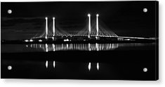 Reflecting Bridge Acrylic Print