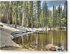 reflecting pond 2 Carson Spur Acrylic Print