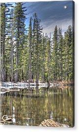 reflecting pond 4 Carson Spur Acrylic Print