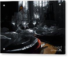 Reflecting Thanksgiving Acrylic Print