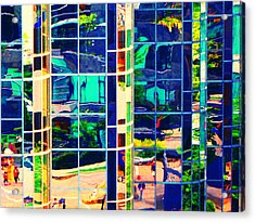 Reflection 8 Acrylic Print