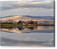 Reflection A Mirror To Nature Acrylic Print