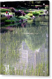 Reflection And Movement Acrylic Print