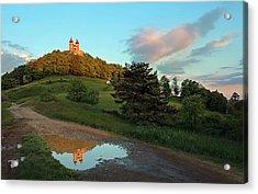 Reflection Acrylic Print by Bronislava Vrbanova