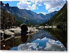 Reflection In Mills Lake Acrylic Print