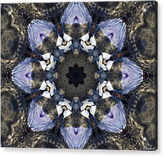 Reflection - Kaleidoscope Art Acrylic Print