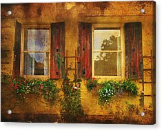 Acrylic Print featuring the photograph Reflection by Kandy Hurley