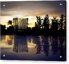Reflection Acrylic Print by Kingsley  Gicalde