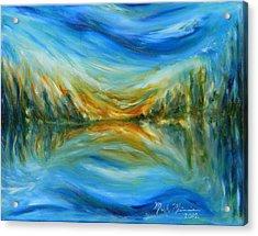 Reflection Acrylic Print by Mark Minier
