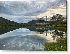 Reflection Acrylic Print by Mohd Rizal Omar Baki