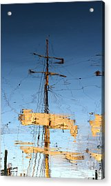Reflection Of A Golden Age Acrylic Print by Butch Lombardi
