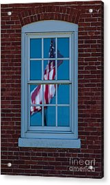 Acrylic Print featuring the photograph Reflection Of Freedom by Patrick Shupert