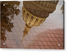reflection of WV Acrylic Print