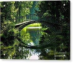 Reflection Paradise Acrylic Print by Mariola Bitner