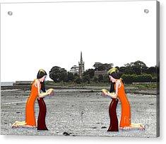 Reflection Acrylic Print by Patrick J Murphy