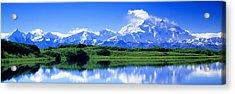 Reflection Pond, Mount Mckinley, Denali Acrylic Print