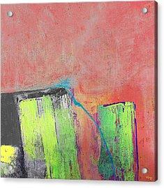 Reflection Acrylic Print by Vess Art