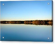 Reflection...lake At Sun Down II Acrylic Print