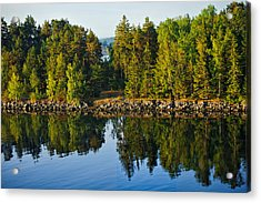 Reflections 1 Sweden Acrylic Print by Marianne Campolongo