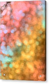 Reflections - Abstract  Acrylic Print by Marianna Mills