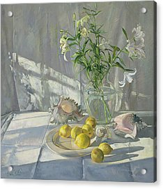 Reflections And Shadows  Acrylic Print by Timothy  Easton