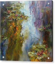Reflections Acrylic Print by Andras Manajlo