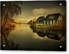 Acrylic Print featuring the photograph Reflections by Annie Snel