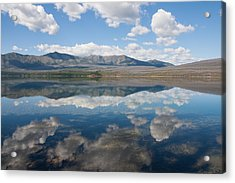 Reflections At Glacier National Park Acrylic Print