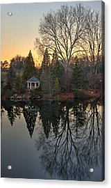 Reflections At Sunset Acrylic Print