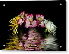 Acrylic Print featuring the photograph Reflections by Cecil Fuselier