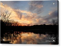 Acrylic Print featuring the photograph Reflections by Cheryl McClure