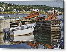 Acrylic Print featuring the photograph Reflections by Eunice Gibb