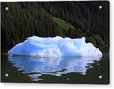 Reflections In The Sea Acrylic Print by Shoal Hollingsworth