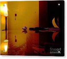Reflections  Acrylic Print by James Njuguna