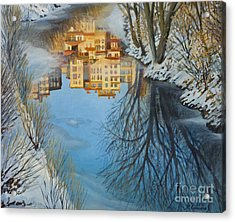 Reflections Acrylic Print by Kiril Stanchev
