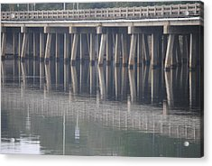 Reflections Acrylic Print by Michele Kaiser